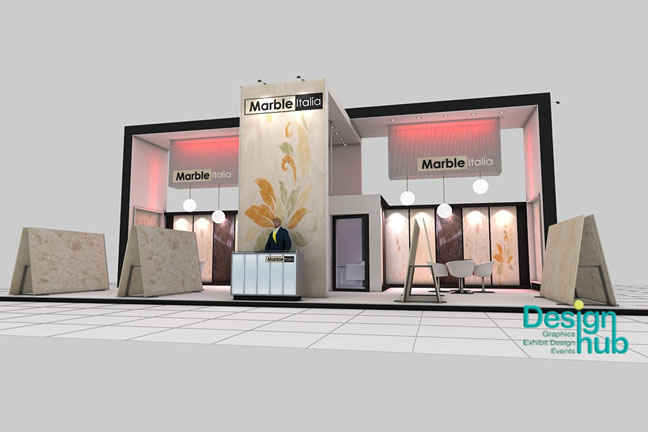 Exhibition Stall Panels : Design hub